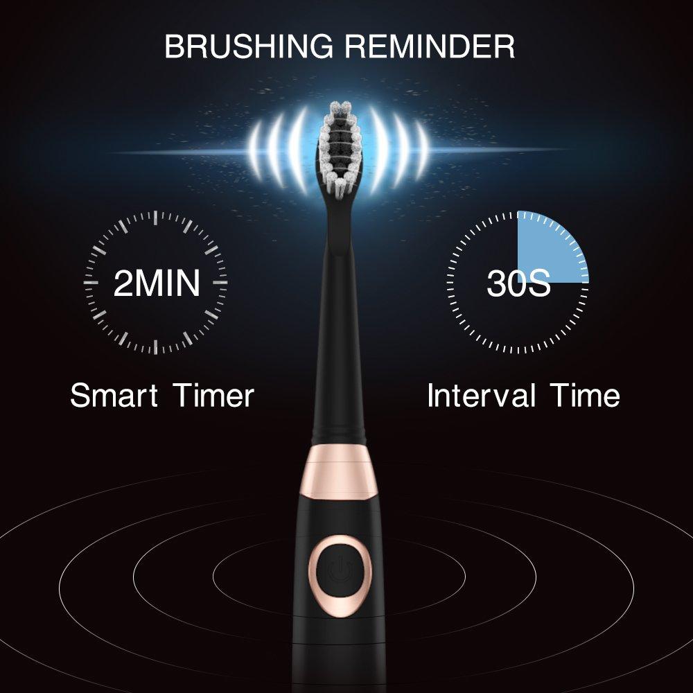 Burst Sonic Electric Toothbrush Adults 5 3 Brushing Modes