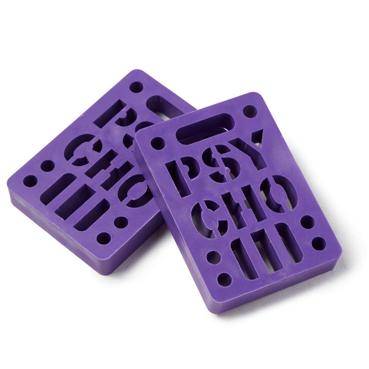 Psycho 2 Pack Risers - Purple - 1/8''