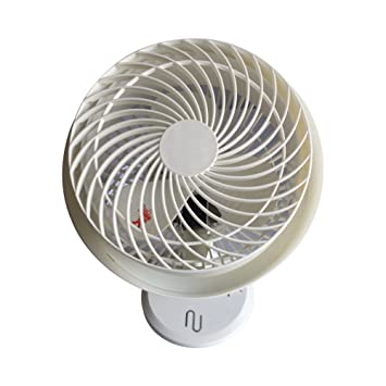 NUEX New User Experience Desk Fan Small Office Fan Easy To Clean, Angle  Adjustable Table