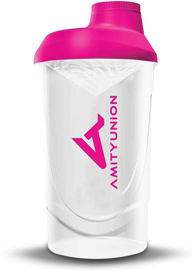 Shaker Deluxe para Mujeres - Proteína Shaker a prueba de ...