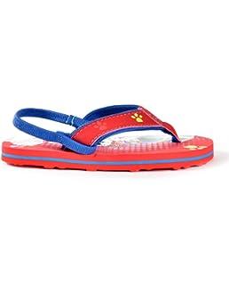 Paw Patrol Infant Baby Boys Beach Flip-Flop Sandals with Heel Strap