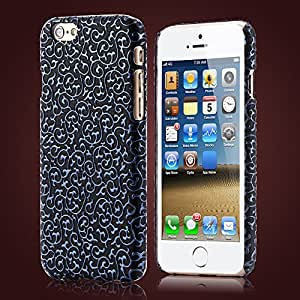 Christmas Deal Classic Palace Flower 3D Leather Case For Apple iphone 6 4.7inch Deluxe Soft Cell Phone Back Cover Bag 4.7'' --- Color:white