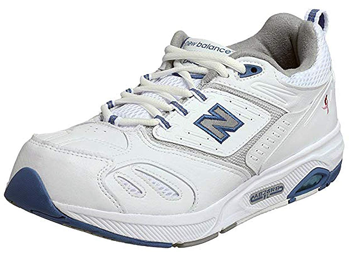 - New Balance Women's WW845WBC White bluee Size 10 2E US