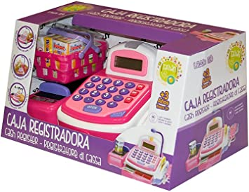 Tachan-Caja registradora little home, color rosa, (CPA Toy Group ...