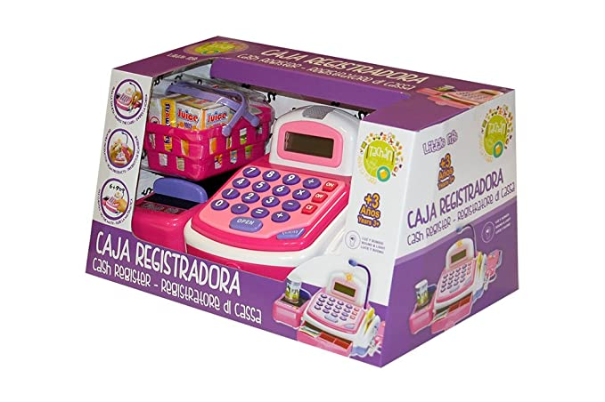 Tachan Caja registradora Little Home, Color Rosa CPA Toy Group 74014263: Amazon.es: Juguetes y juegos