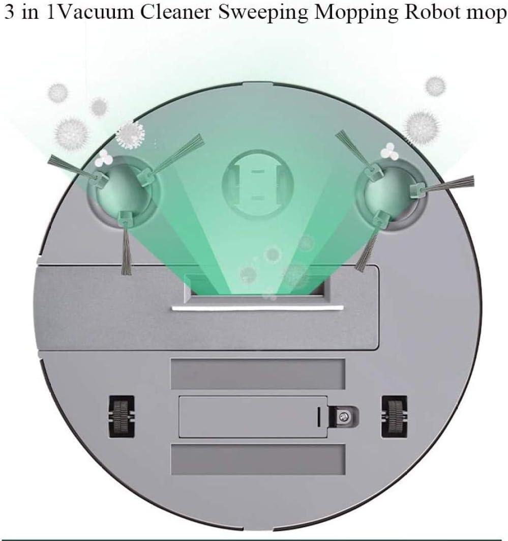 SUYING Robot Balayer Automatique des ménages Lazy Man Cleaner Automatique Directeur modèle de Charge Intelligente de Charge Aspirateur Noir-Blanc DYWFN (Color : Black) Black