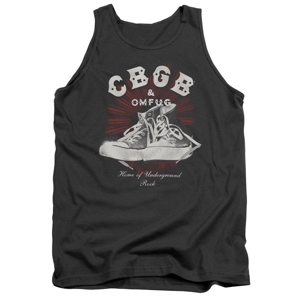 Cbgb High Tops Adult Tank Top