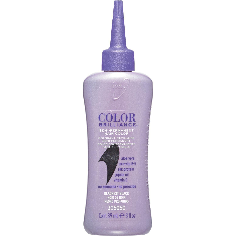 Amazon Ion Color Brilliance Semi Blackest Black Chemical