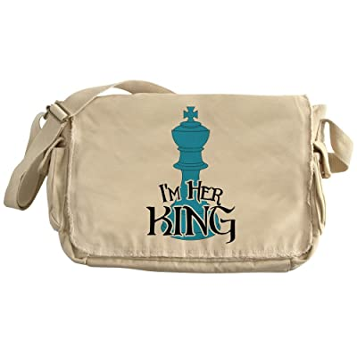 24955f7320 chic CafePress - I m Her King - Unique Messenger Bag