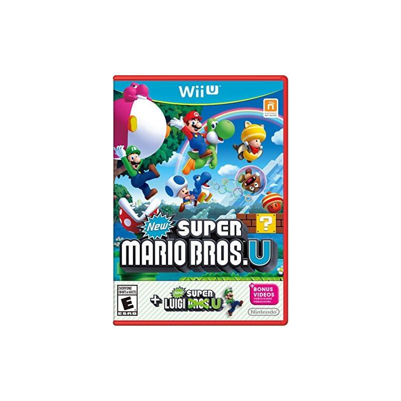 New Super Mario Bros. U + New Super Luig