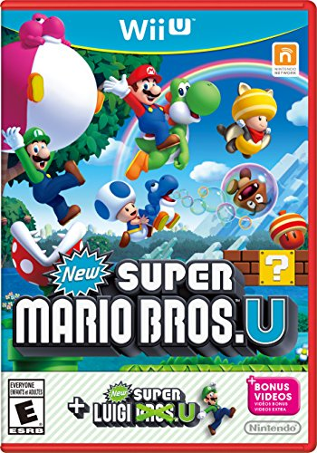 New Super Mario Bros. U + New Super Luigi U - Wii U (Super 3 Brothers Wii Mario)