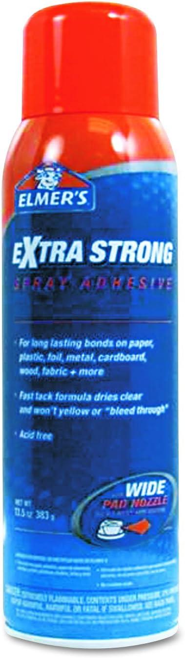 Elmer's E455 Extra-Strength Spray Adhesive, 13.5 oz, Aerosol