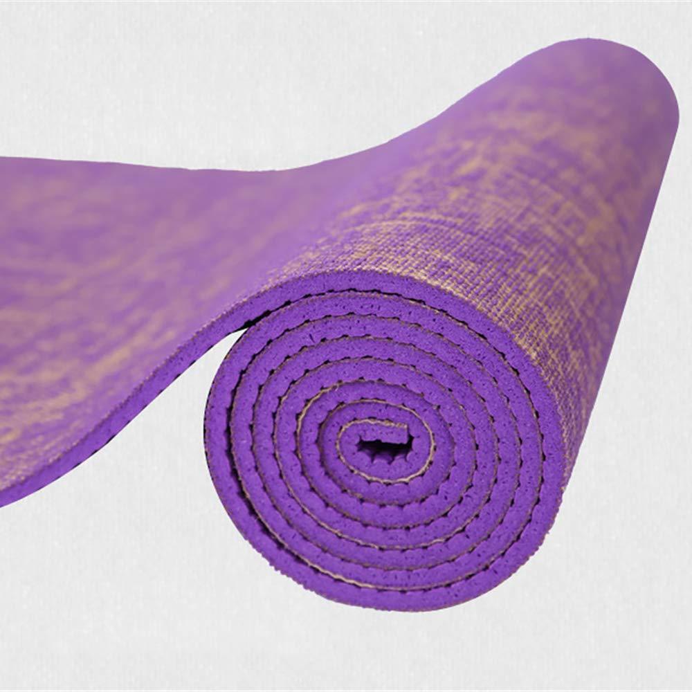LLCP Yoga Mat Eco-Friendly Ejercicio Mat con-Absorbente de ...