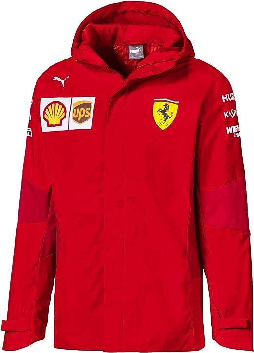 Puma Herren Scuderia Ferrari Team Jacke Farbe Rot 02 Größe S Bekleidung