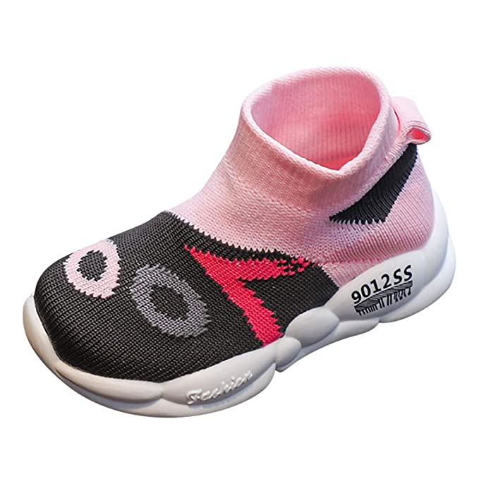 f719ee6639194 Amazon.com: Lucoo Toddler Infant Kids Baby Girls Boys Cute Socks ...