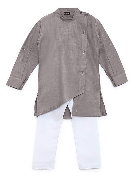 191110eda9 AJ Dezines Kids Ethnic Wear Kurta Pyjama for Boys  Amazon.in ...