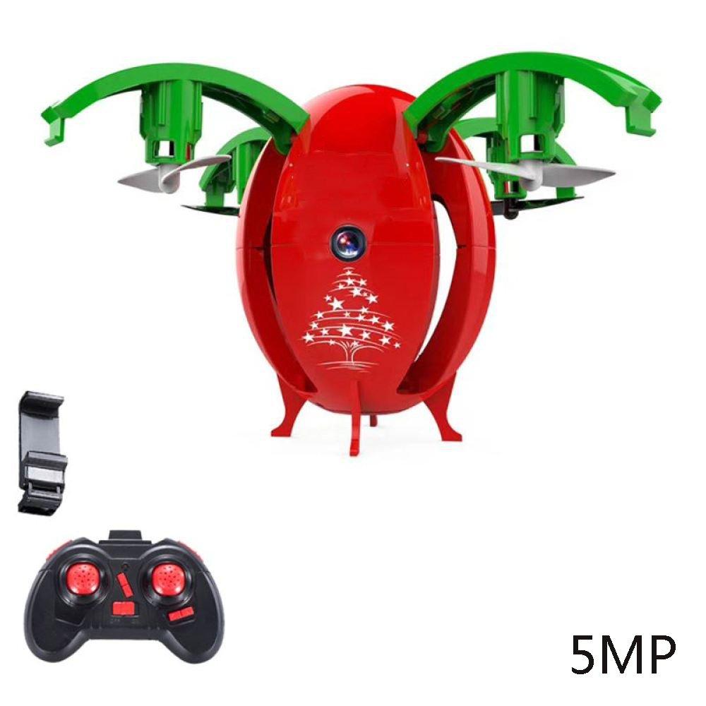 Drohne RC Faltbare Mini-Drohne Mit 5MP 720P HD Kamera Quadcopter Live Video Wifi FPV Fernbedienung 2 4 GHz 4Axis Gyro Headless Modus Höhe Halten One-Key 3D Flip,ROT