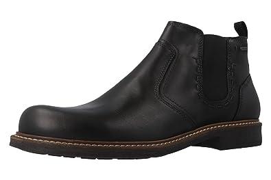 FRETZ men Herren Belfort Chelsea Boots, Schwarz (Noir 51), 48 EU