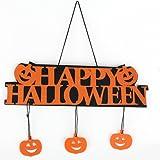 Kingko® 1pc Halloween Pumpkin Banner Garland Ghost Hanging Decoration Home Party