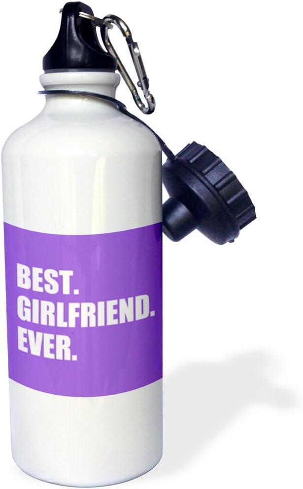 Multicolored wb/_179711/_1 3dRose Dark Blue Best Boyfriend Ever Navy Text Anniversary Valentines Day-Sports Water Bottle 21oz