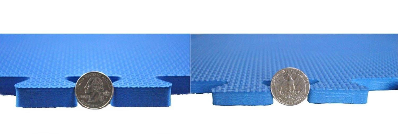 Exercise Equipment Floor Protection Waterproof Mat Treadmill Not Included CT-TMBK EWONDERWORLD 90 X 43 X ~9//16 Extra Thick Treadmill Waterproof Mat w//Edging
