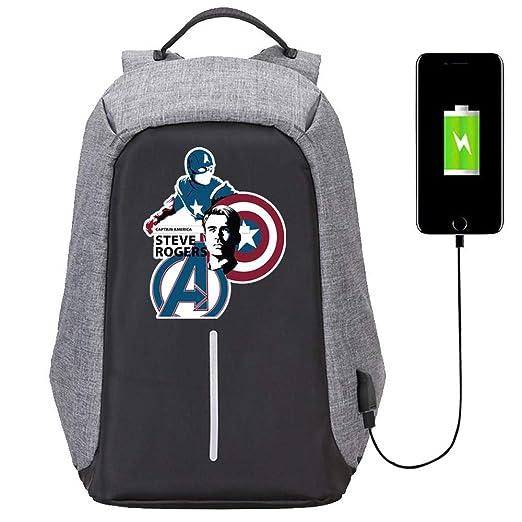 RGLIN Marvel Anime Capitán América Mochila, Bolsa de ...