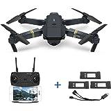 Eachine E58 2MP 720P Telecamera grandangolare WIFI FPV Live Video APP mobile Controllo pieghevole Drone Selfie Pocket RC Quadricottero Helicopter RTF + 1 cavo e 3 batterie