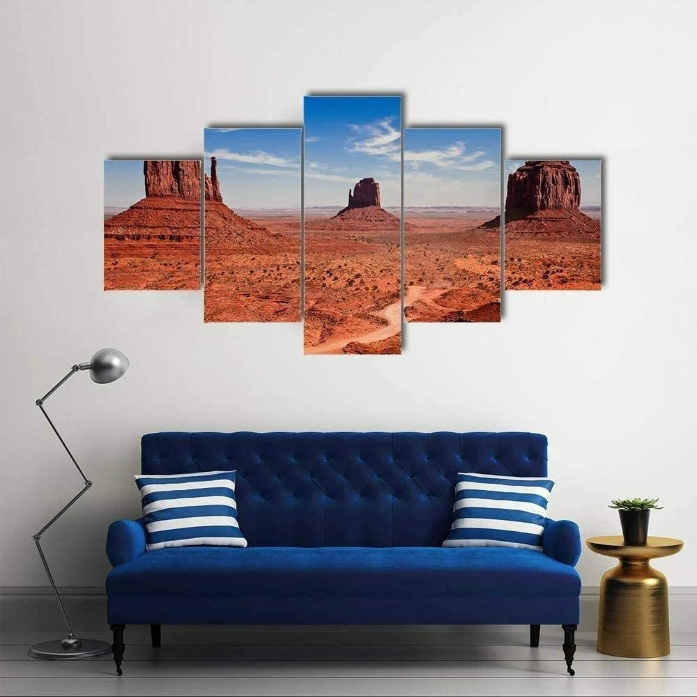 TOPJPG Canvas Wall Art Painting Pictures Famous Monuments Valley Decoration Wall Decor Bathroom Living Room Bedroom Kitchen Framed Ready to Hang
