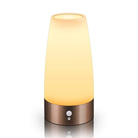 Amazon.com: PIR sensor de movimiento luz de noche, lovingvs ...