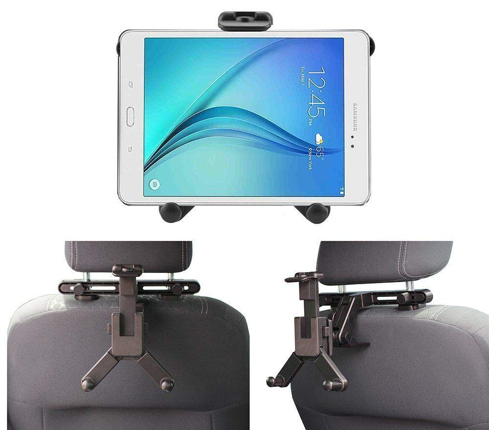 Navitech in Car Portable Tablet Head Rest/Headrest Mount/Holder Compatible with The LG G Pad F 8.0 | LG G Pad V495 | LG G Pad X 8.0 V520 | LG GPad X2 8.0 Plus V530 | LG G Pad V400