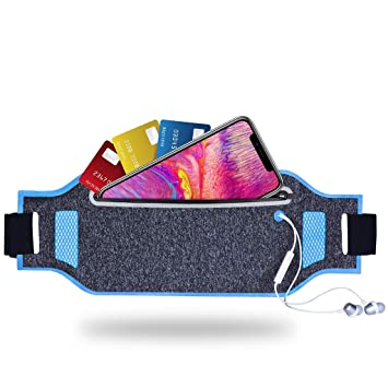 "6c5cf6ce JULAM Running Belt Ultra-Thin Waist Pack for Elephone P7000 Pioneer  5.5"", Waterproof"