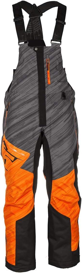 509 Range Insulated Bib Orange - 2X-Large