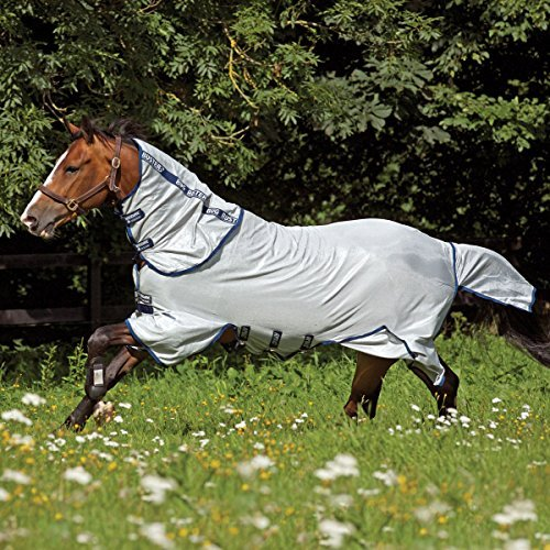 Amigo Bug Buster Vamoose Fly Sheet w/Navy Trim 78I by Amigo Blankets