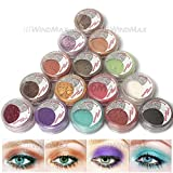 Amazing Gift! USPS Shipping! 15 Cold Smoked Metals Color Glitter Shimmer Pearl Loose