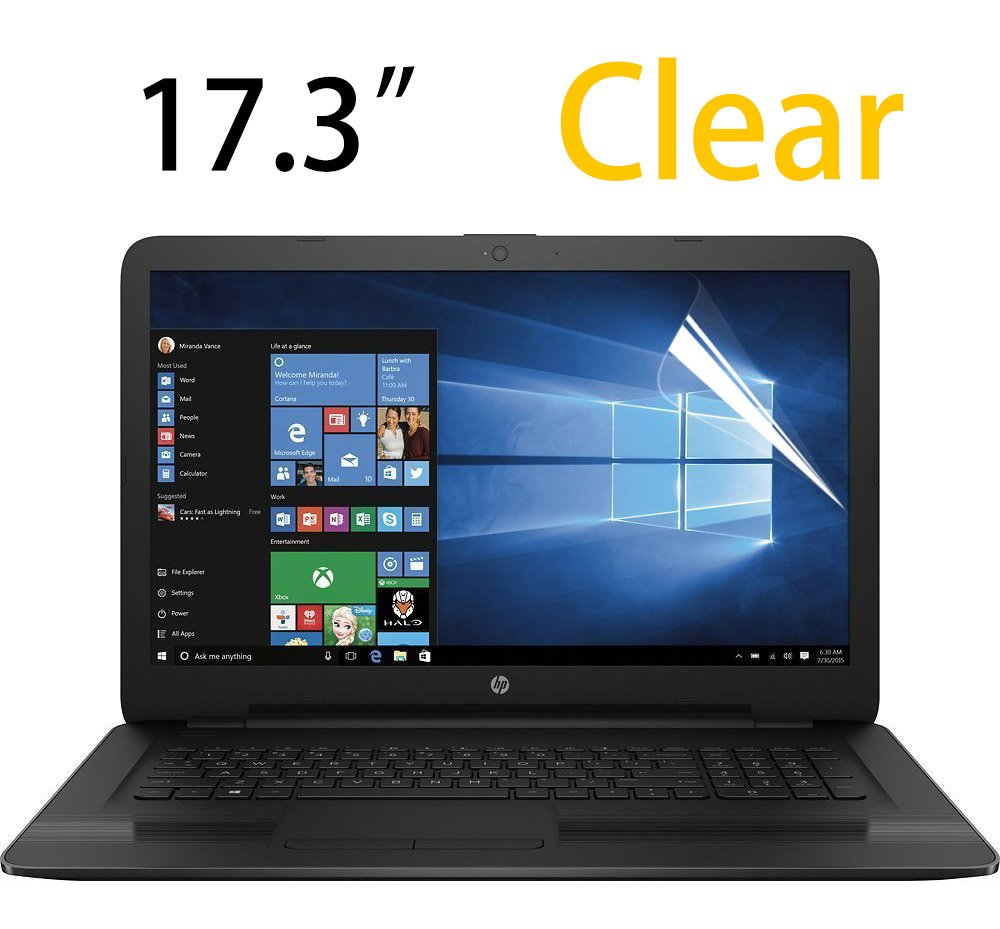 17.3 Inch Laptop Screen Protector, Clear Anti-scratch Screen Guard Film for 17.3'' HP Pavilion 17/HP OMEN 17/ENVY m7/ENVY 17M 17.3 Inch Notebook Series By CaseBuy