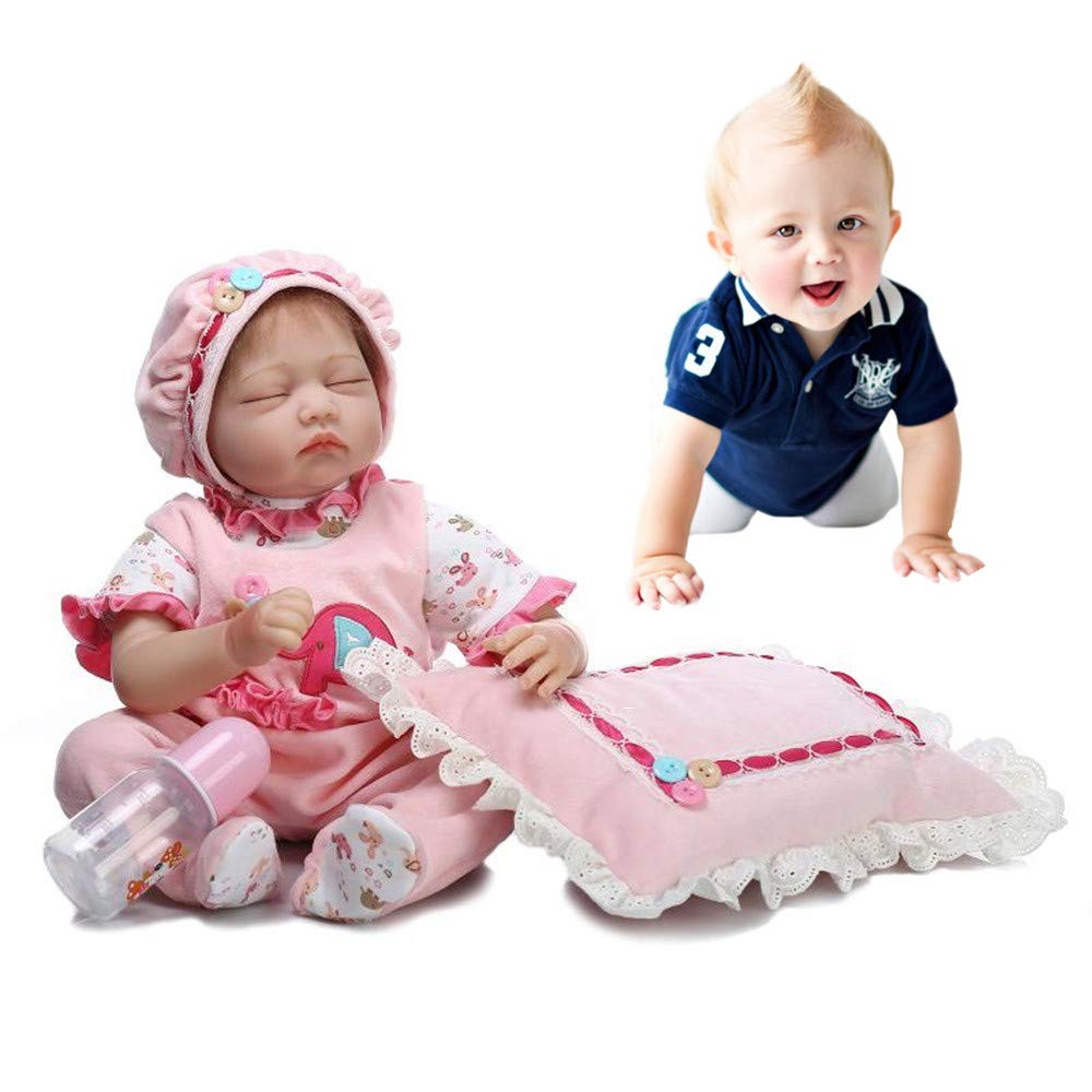 Birdfly Type:1010 Reborn Toddler Smile Baby Doll Sit Lovely Girl Silicone Lifelike Toy 3-7 Days Arrive Ship by DHL