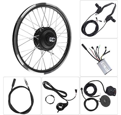 Kits de conversión de Bicicleta eléctrica, Kit de Rueda de Bicicleta eléctrica 24V 250W Motor KT900S Pantalla LED Rueda de 20 Pulgadas Adecuado para llanta de Bicicleta Reforzada Especial(Rear Motor): Amazon.es: Deportes