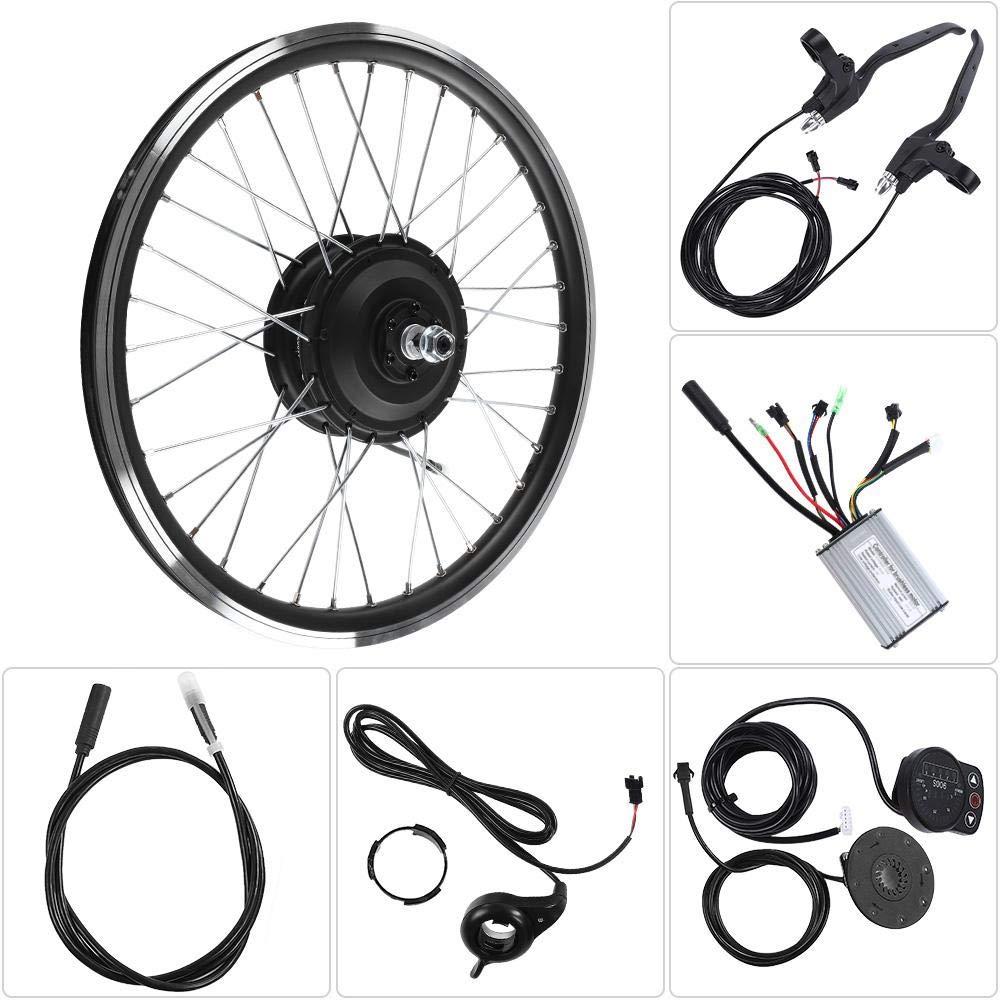 電動自転車変換キット、36V / 48V 350WモーターKT900S LEDディスプレイ26インチE-Bike強力な変換キット 48Vフロントモーター