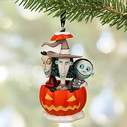 disneys the nightmare before christmas lock shock barrel sketchbook ornament