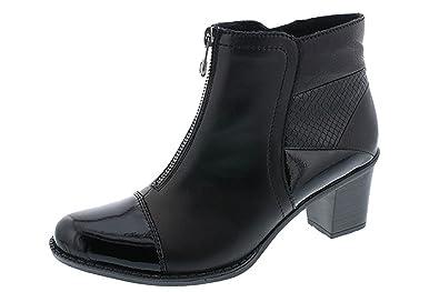 288af6e0ff5e0d RIEKER - Z7688 - BOOTS - NOIR: Amazon.fr: Chaussures et Sacs