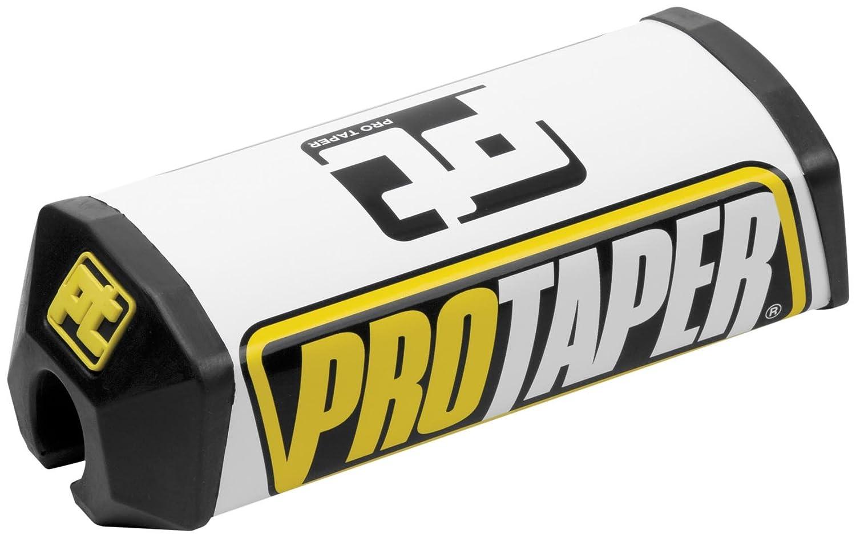 Pro Taper Standard 2.0 Square Crossbar Pads - Black/White 028395 tr-028395