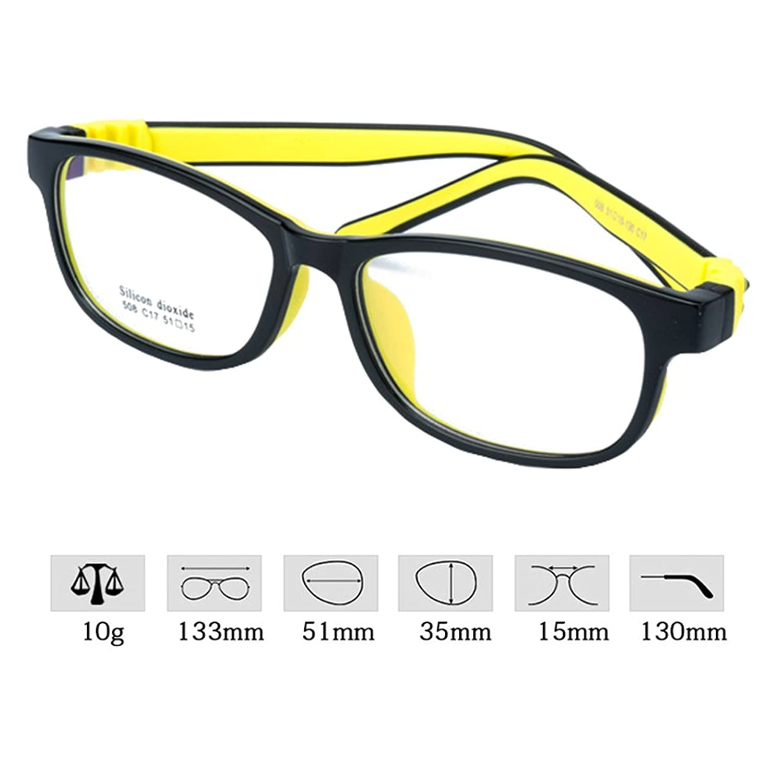 Marco para gafas para niños - Silicona - Gafas de lectura para niños ...