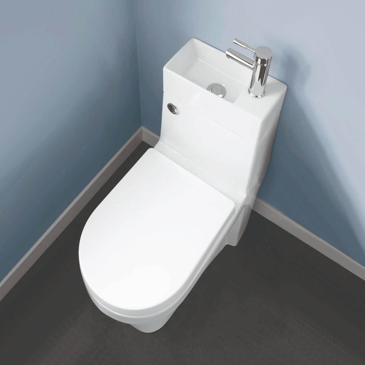 bathroom supastore two in one combination close coupled toilet with rh amazon co uk