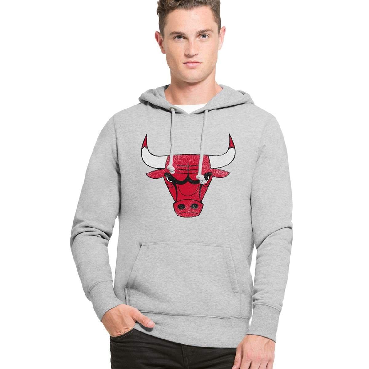 '47 Brand Chicago Bulls Knockaround Hoodie NBA Sweatshirt