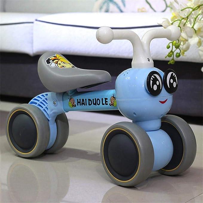 Chengstore Baby Balance Bicicletas Bicicleta Niños Caminante 10 Meses -36 Meses Sin Pedal Balance Coche Bebé 4 Ruedas Niño Primer regalo de cumpleaños ...