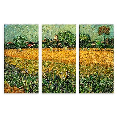 Alonline Art - Irises Field Near Arles Vincent Van Gogh VINYL STICKER DECAL 53
