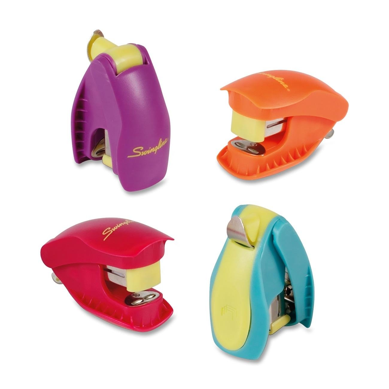 Swingline Tot Grip Miniature Stapler, 12 Sheet Capacity, Includes 1,000 Staples, Assorted Colors, Color May Vary (S7079168R) ACCO Brands Canada Inc.