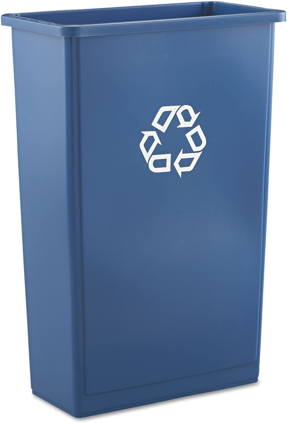 Rubbermaid  354007GN Commercial Slim Jim Recycling Container with Venting 23