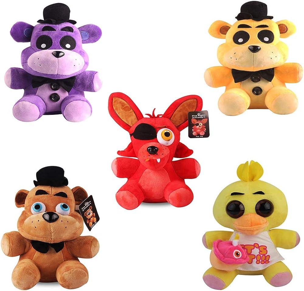 Koala Stuffed Animals Mini, Yode 5pcs Set Five Nights At Freddy S Soft Plush Figures Doll Stuffed Animal Kids Children Toys 18cm Amazon Ca Clothing Accessories