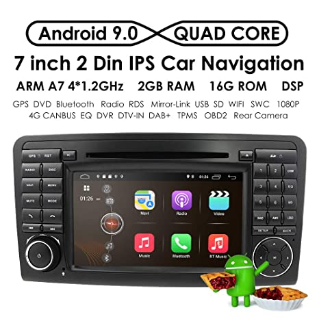 Amazon.com: Android 7.1 Quad Core En Dash Radio de coche ...